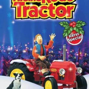 Kleine rode tractor kerstspecial