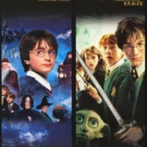 Harry Potter en de steen der wijzen & Harry Potter de geheime kamer