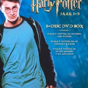 Harry Potter jaar 1-3