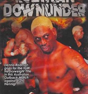 Dennis Rodman wrestling