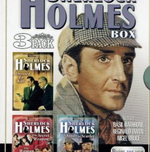 The Sherlock Holmes Box 3 Pack